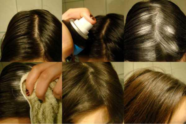 Suchy szampon w sprayu
