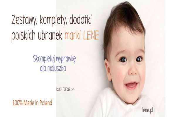 Słodka moda niemowlęca od sprawdzonego producenta